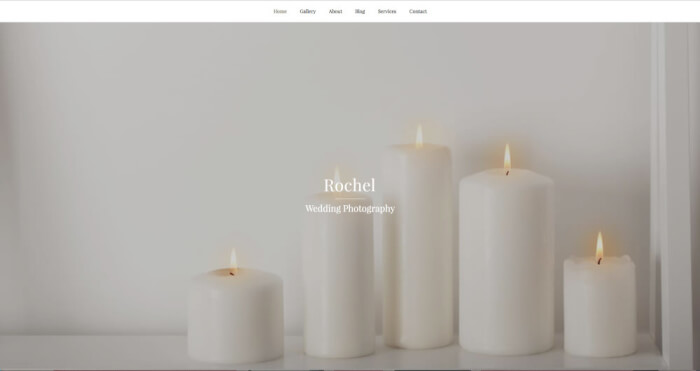 You are a photographer who needs a personal website? Here is a nice template for you!