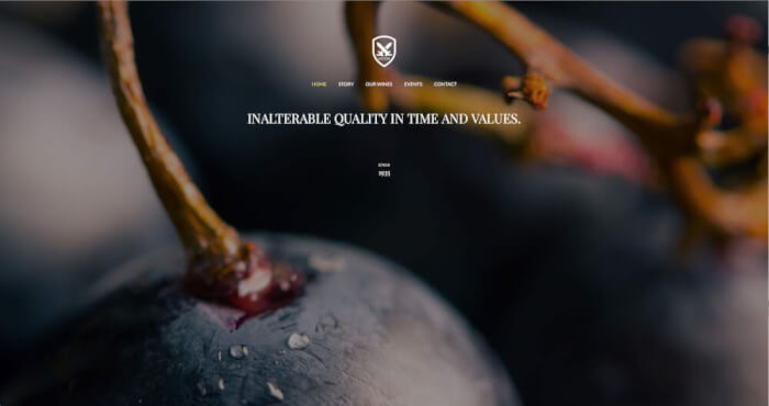 The whole story of wine, inalterable quality in time and values.