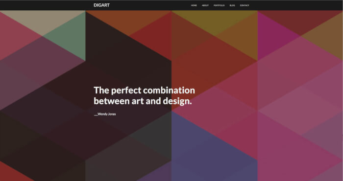 Bright solutions for web designers to showcase their work.